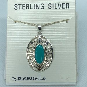 NWT Sterling Silver Necklace